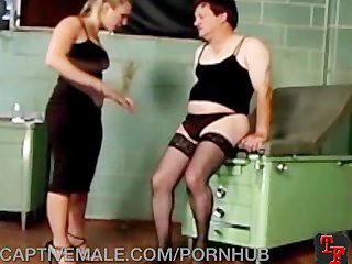 Man in Lingerie Humiliated!