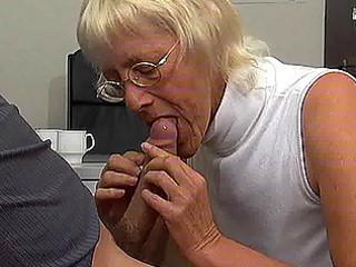 elderly sweetie likes fresh cock