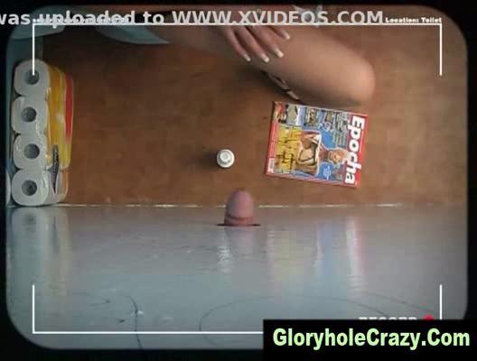 gloryhole pale gives gloryhole toilet cock sucking