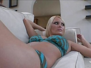 naughty pale hannah hilton poses herself on the