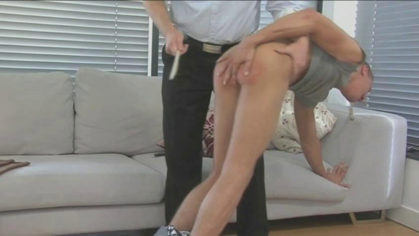 hunky gay guy takes spanked and whipped pretty