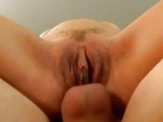 super albino woman inside hot bikini takes butt