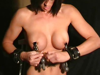 extreme chest bdsm and nipple torments of daniela