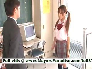 rio fujisakiamateur eastern  girl at work on the