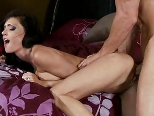 blonde rough anal brunette obtains her pussy