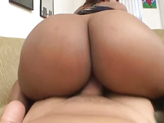 sinnamon adore - ebony chick clean dick point of