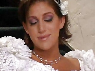 bride and her homosexual woman lover having fuck