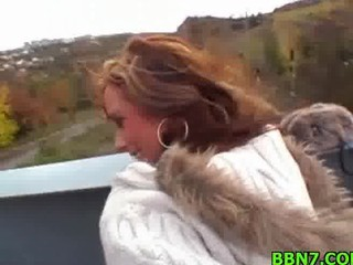 beautiful chick takes gangbanged doggystyle