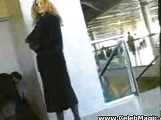 voyeur at the airport