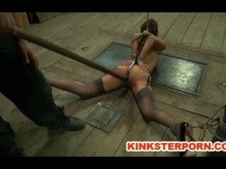 obsess slave lavender rayne ass hooked into