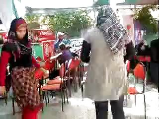 arab hijabi bitch dancing 13