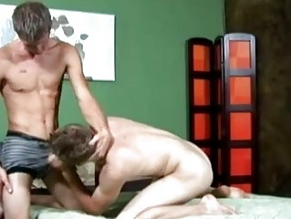 handsome twink gives passionate deep fellatio