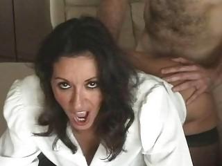 seductive naughty mature babe inside nylons