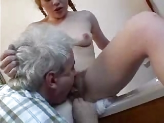 little shaggy amateur obtains her arse pierced